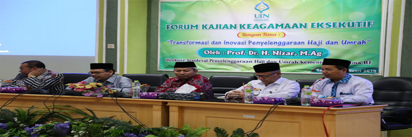 UIN Antasari Banjarmasin Siap Cetak Pembimbing Haji Profesional Bersertifikat